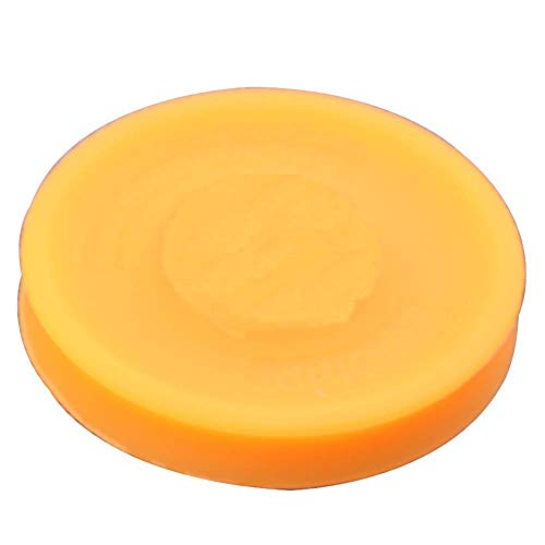 SuneWay Fliegend Scheibe, Silikon Ultimative Mini Frisbees Spielzeug für Außen- Herren Damen Kinder Spin Spiel Spielsachen - Orange