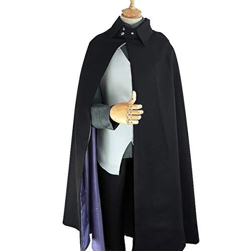 Boruto - Naruto Uchiha Sasuke Outfit Cosplay Kostüm Herren (L)
