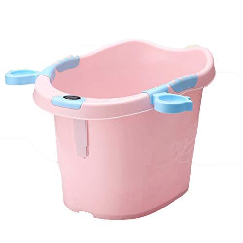 LIBWX Baby-Badewannensitz tragbar mit Saugnäpfen Baby-Badesessel für Badewanne zum Sitzen - Anti-Rutsch-Sicherheitsring für Kleinkind, Kleinkind, Kind, grün,Red (Saugnäpfe Sitz Badewanne)
