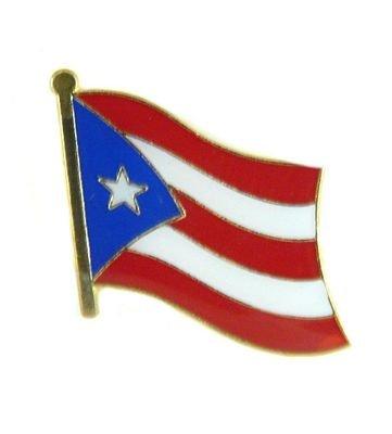 Flaggen Pin Puerto Rico Pins Anstecknadel Fahne Flagge FLAGGENMAE® -