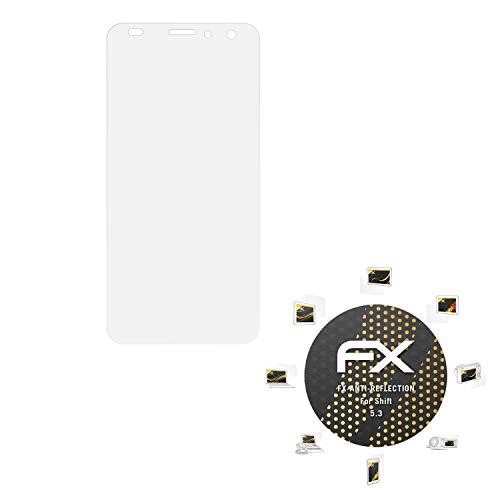 atFolix Panzerfolie kompatibel mit Shift 5.3 Schutzfolie, entspiegelnde & stoßdämpfende FX Folie (3X)