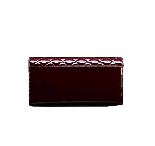 Spalla Lingge Messenger Bag Busta Donne Borsa Catena Piccola Borsa In Pelle RedDates