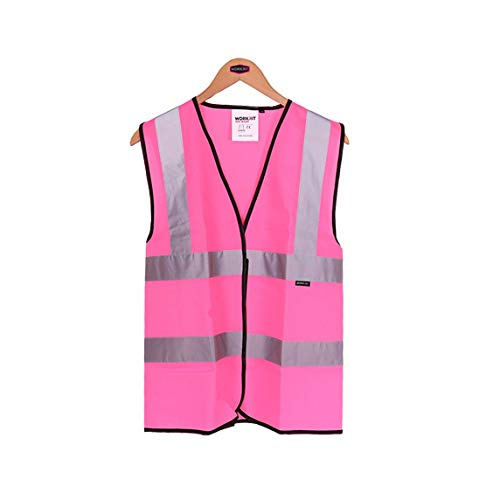 Price comparison product image Womens Hi Vis Vest - Pink - Small