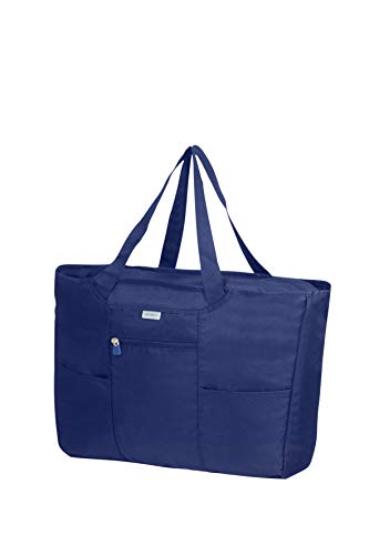 SAMSONITE Global Travel Accessories - Foldable Shopping Tote da viaggio 39 centimeters 1 Blu (Midnight Blue)