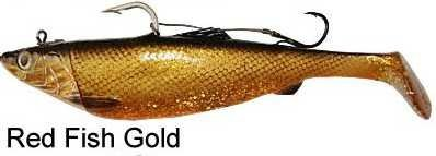 Savage Gear 3D Herring Big Shad 25cm 300g 1pcs 42-Red Fish Gold