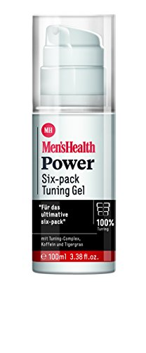 Men´s Health Power Sixpack Tuning Gel  - vegan & parabenfrei, 1er  Pack (1 x  100 ml)