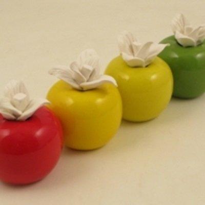 Cuorematto bomboniere solidali 2015 cuoremela profumatore mela colori ass 8 cm 1 pezzo