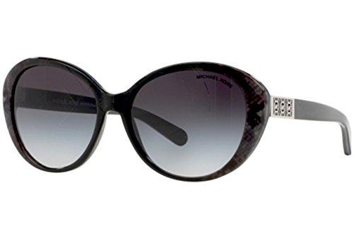 Michael Kors Damen MK6012 Purto Banus Sonnenbrille, Grau (Grey Snake 302011), One size (Herstellergröße: 57)