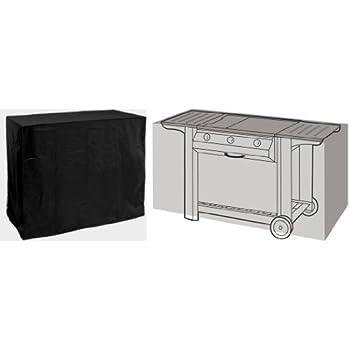 HBCOLLECTION Housse noire pour barbecue gourmet 130cm gamme confort ...
