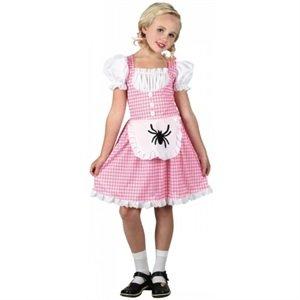 Kostüm Muffet Miss Kind - Little Miss Muffet Kinderreim Verkleidung für Mädchen Fasching Karneval Kostüm M
