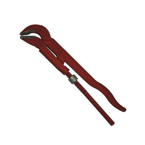 Normex Eckrohrzange 1' rot Chrom Vanadium