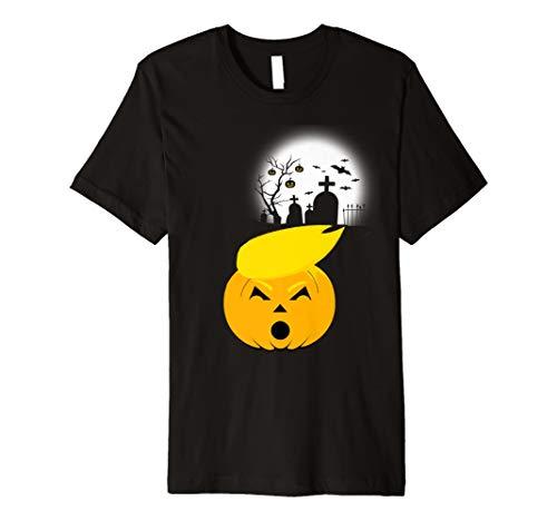 Trumpkin Trumpkin Trumpkin Kürbis Friedhof Halloween T-Shirt