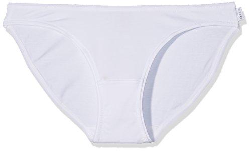 ESPRIT Bodywear Damen Rio Slip 997EF1T814 2er Pack, Weiß (White 100), 38