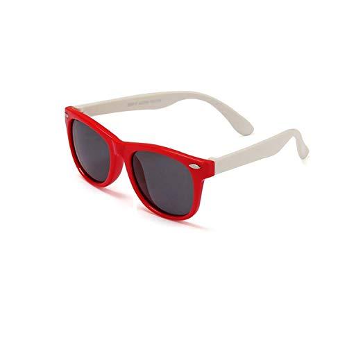 Sportbrillen, Angeln Golfbrille,NEW Boy Girls Sunglasses Kids Sun Glasses Children Glasses Polarisiert Lenses Girls Boys Tr90 Silicone Child Mirror Baby Eyewear c10