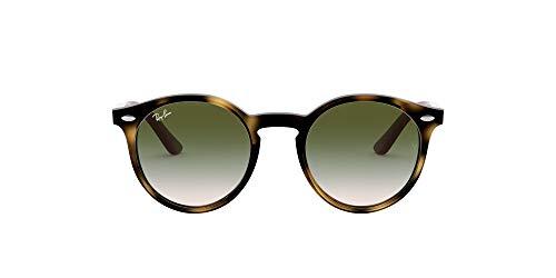 Ray-ban junior 0rj9064s 70442c 44 occhiali da sole, marrone (havana/light brown gradient green), unisex-bambini