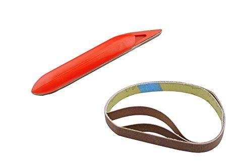 Loaded Finger Sander & 3Ersatz Gürtel Hobby Miniatur (w8015). Versandkostenfrei innerhalb UK ()