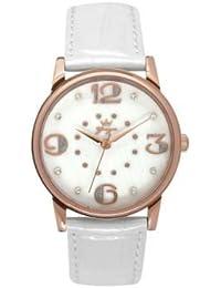 Reloj Yonger pour elle mujer nácar blanca–DCR 1608/33