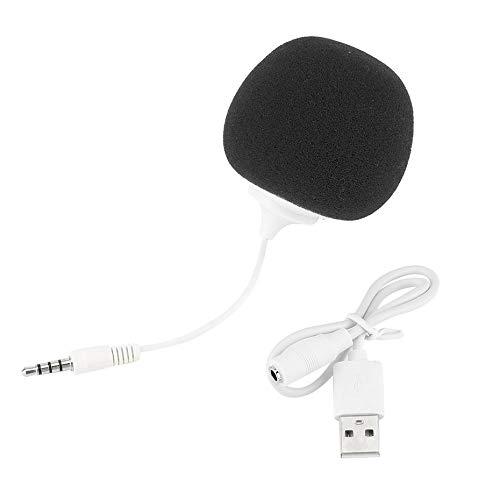 Einzigartige tragbare PC-Musik-Schwamm-Kugel-Art 3,5mm Minilautsprecher-Spieler-Audio-Dock mit USB-Kabel Plug & Play DC5V 2W - Schwarz Beste Portable Ipod Speaker System
