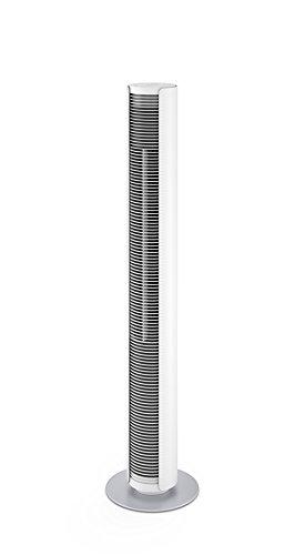1 : aproximadamente 80/º /Caudal de aire: hasta 520/M/³//h/ Luxe columna Ventilador con ionizador CA-405/ /di/ámetro de robo oscilaci/ón