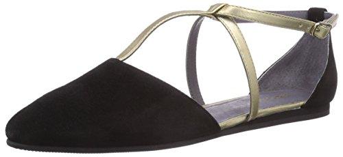 flip*flop - Merida, Con cinturino a T Donna Nero (Schwarz (000 black))