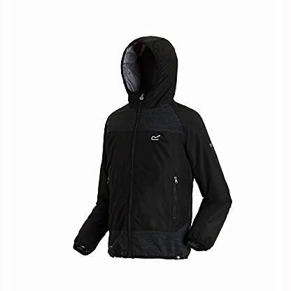 Regatta Children's Volcanics Ii Waterproof and Breathable Lightweight Insulated Reflective Hooded Jacket 2