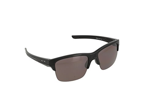 Oakley Herren Sonnenbrille Thinlink Schwarz (Polished Black), 63