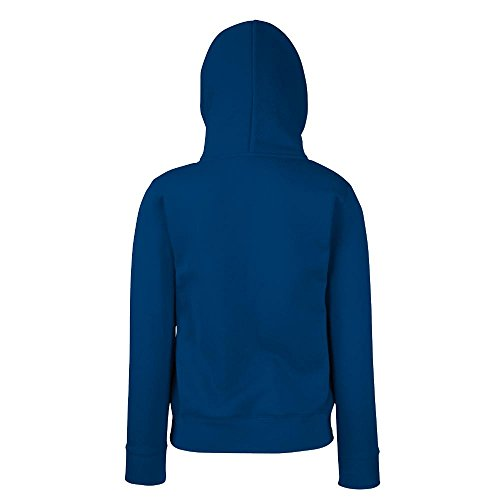Fruit of the Loom - Lady-Fit Hooded Sweat M,Black -