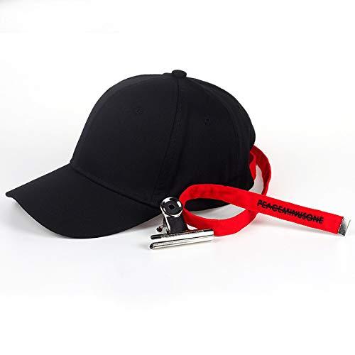 ZKADMZ  Chica Larga Espalda Correa Alfabeto Snapback Sombrero Moda Color  Sólido Sombrero De Béisbol Hombre Hip Hop Sombrero 8cc9a7632cd