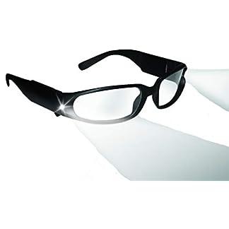 Panther Vision ® – Gafas de seguridad con luz LED incorporada para realizar realizar trabajos en zonas con poca iluminación de forma cómoda y segura