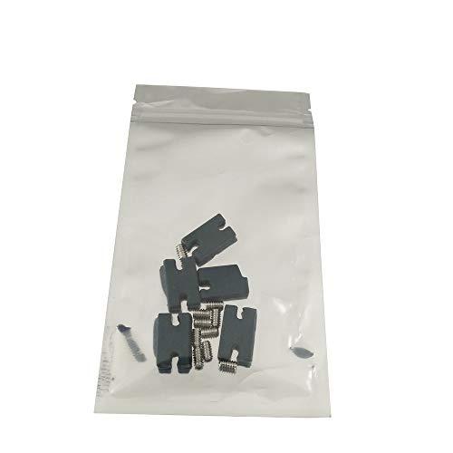 Liquida Tab Infill-Kit für FCS II-System (10 x Schrauben + 5 x Tabs + Fin Key) -