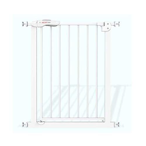 HULAN Porte de sécurité d'enfant, taille de porte d'isolation de balcon d'isolation de balcon de barrière de clôture de clôture pour animaux de compagnie de clôture d'escalier de protection de bébé po