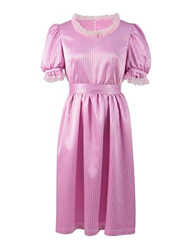 Zhangjianwangluokeji Horrorfilm Shining Torrance Cosplay rosa Kleid Kostüm für Damen (3XL, Farbe 1)