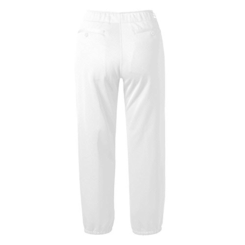 Mizuno Select non-belted Low Rise Fastpitch Pant White