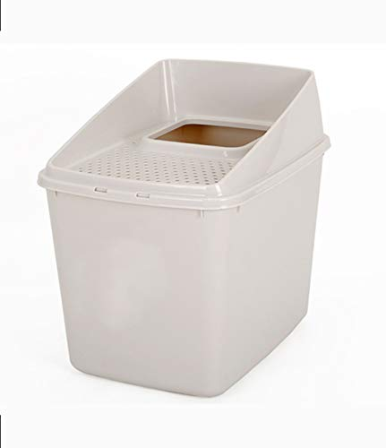 Casa Mascotas Jumbo Cat Litter Box Totalmente incluida