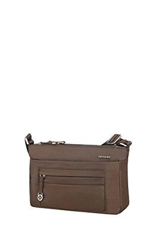 SAMSONITE Move 2.0 - Horizontal Shoulder Bag S Messenger Bag, 25 cm, Brown (Dark Brown)