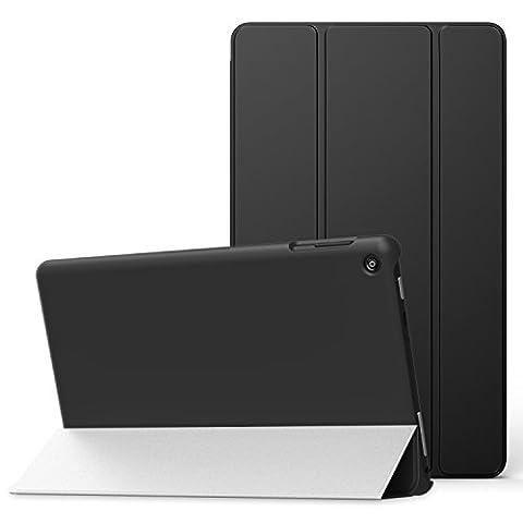 MoKo Hülle für Fire HD 2016 8 Zoll - Ultra Slim Lightweight Schutzhülle Smart Cover mit Auto Schlaf / Wach Funktion und Standfunktion für Fire HD Tablet (Vorherige 6. Generation - 2016),