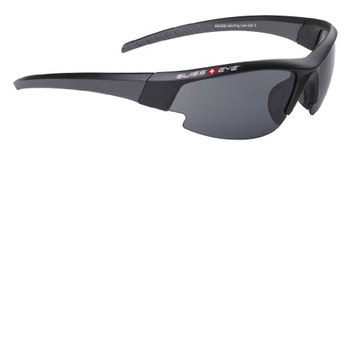 SWISS EYE GARDOSA EVOLUTION   GAFAS DE SOL DEPORTIVAS NEGRO BLACK MATT/GUN METAL TALLA:146MM