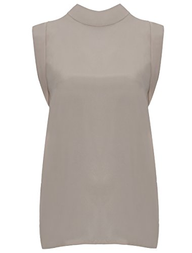 Supertrash Donna Baraz Silk Blouse Chalk Beige 42