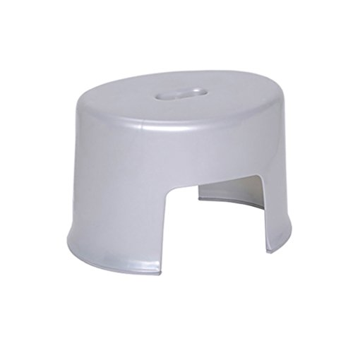 ALCFHYE IVNZEI Dusche Bad Sitz Dressing hocker Schuh Bank Bad fußhocker dicken Kunststoff duschhocker (Color : B) -