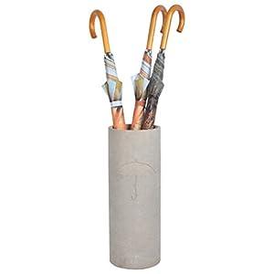 Esschert Design Regenschirmständer Beton aus Beton,19,3 x 19,3 x 50,0 cm
