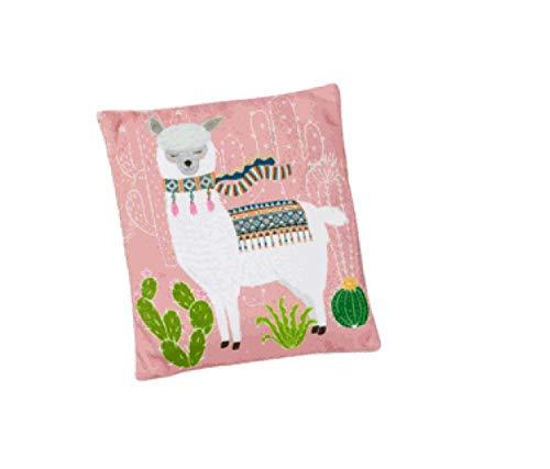Kirschkernkissen Lama rosa