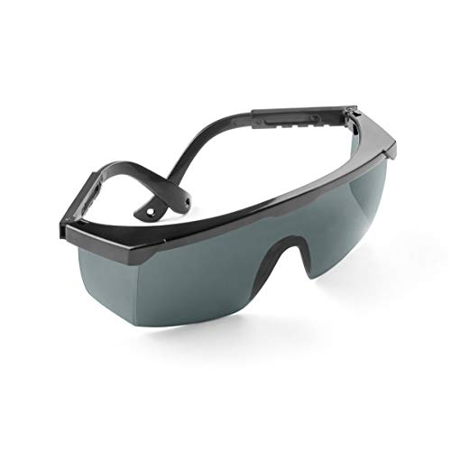 Premium UV-Schutzbrille für den zuverlässigen Augenschutz vor UV, LED oder Infrarot-strahlung| Geprüfte Qualität nach DIN 170 | Perfekt geeignet bei Laserbehandlungen und in der Phototherapie