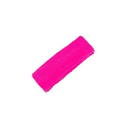 Mytoptrendz® Athletic Workout Headbands Sports Headband Sweatband Terry Cloth Head Band in Various Colour (Neon