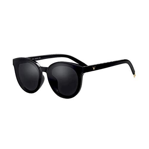 qwt Ins Sonnenbrille weiblichen koreanischen Version des Gezeiten-Netzwerks rot 蹦 蹦 großes Gesicht war dünn Street Shot Brille gm Sonnenbrille rundes Gesicht Augen schütteln