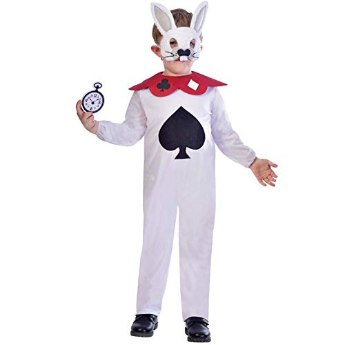 Weißes Kaninchen - Alice im Wunderland Kostüm Kinder Unisex Amscan (Weißes Kaninchen Kostüm Alice Im Wunderland)