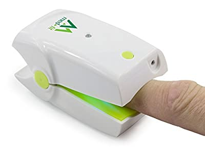 Med-Fit Rechargeable Nail Fungus Treatment Laser Device Ideal for home use - Easy to use and highly effective for the removal of unsightly nail-fungus and infections for use on both the feet and hands from Med-Fit