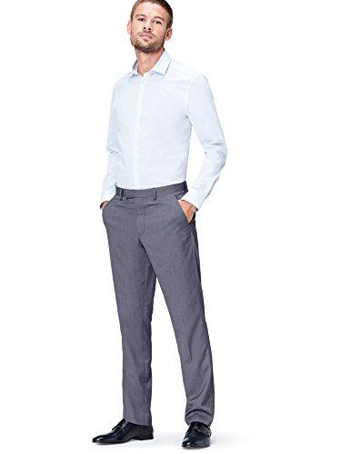 FIND Rayleigh Textured Regular Trouser Pantalones vaqueros delgados Hombre, Azul (Navy), W38/L32 (Talla del fabricante:38)