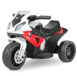 Playkin Moto electrica niños BMW Oficial 6V Recargable Triciclo +18 Meses