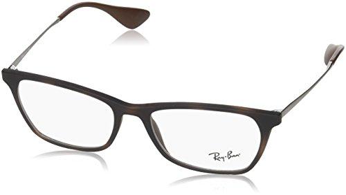 Ray-Ban Unisex-Erwachsene Brillengestell 0rx 7053 5526 52 Violett (Rubber Violet),