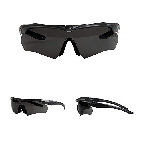 Douerye Sportbrille REIT Brille, Militär Begeisterte Taktische Brille, Schieß Brille Bulletproof Brille. UV-Polarisierte Sonnenbrille. -